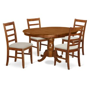 Portland 5 Piece Extendable Dining Set