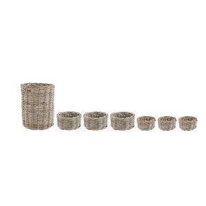 7-tlg. Aufbewahrungskorb-Set von Old Basket Supp..