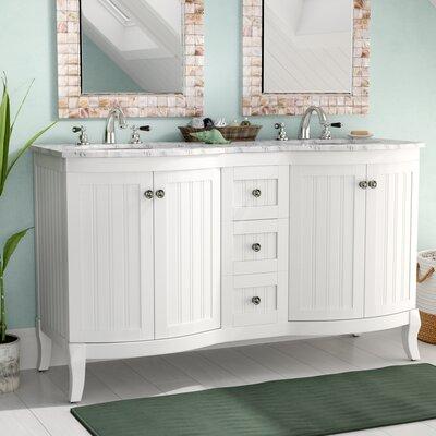 double vanities you ll love wayfair 48 Double Bathroom Vanity Grey 48 Inch Double Sink Bathroom Vanities