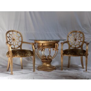 Gold Pedestal Base End Side Tables Youll Love
