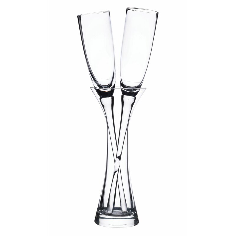 Lillian Rose 3 Piece Long Stemmed Toasting 6 Oz Champagne Flute