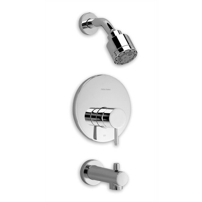 Bath And Shower Faucets american standard serin diverter bath/shower faucet trim kit