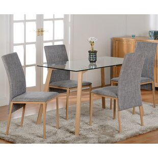 Dining Table Set. Reba Dining Table And 4 Chairs Set E
