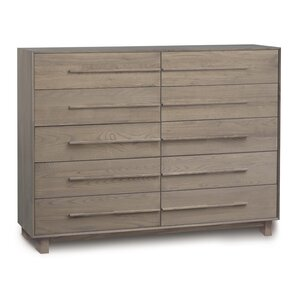 Sloane 10 Drawer Double Dresser by Copeland Furniture