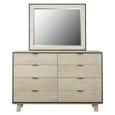 Brayden Studio Belmar 8 Drawer Double Dresser