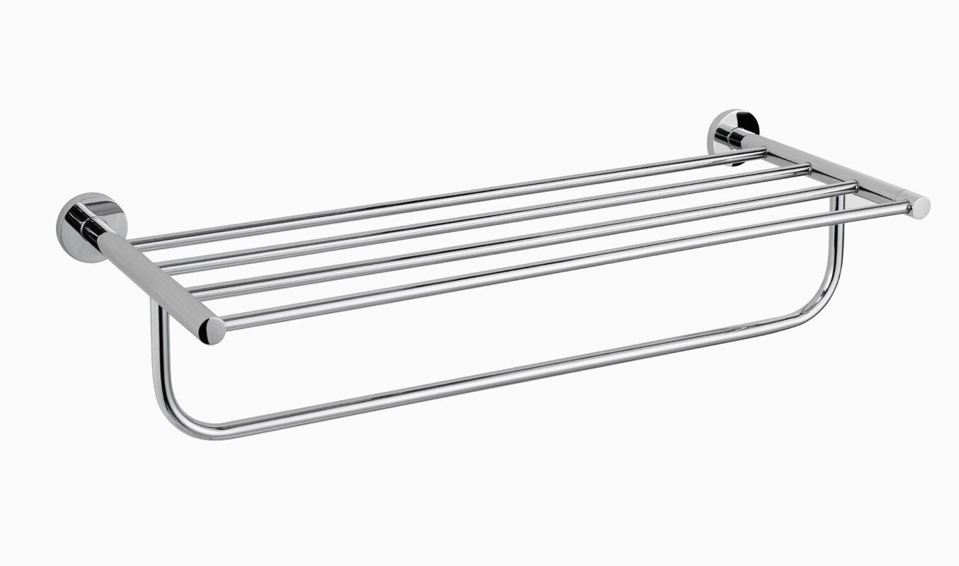 bekith holder stainless mounted rack pin towel arm steel wall organizer swing hanger amazonsmile bathroom