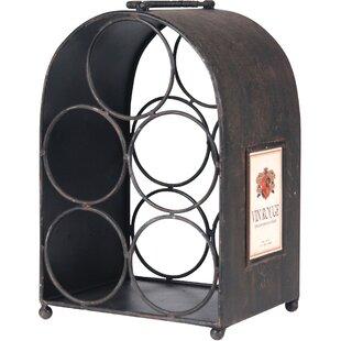 5 Bottle Tabletop Wine Rack