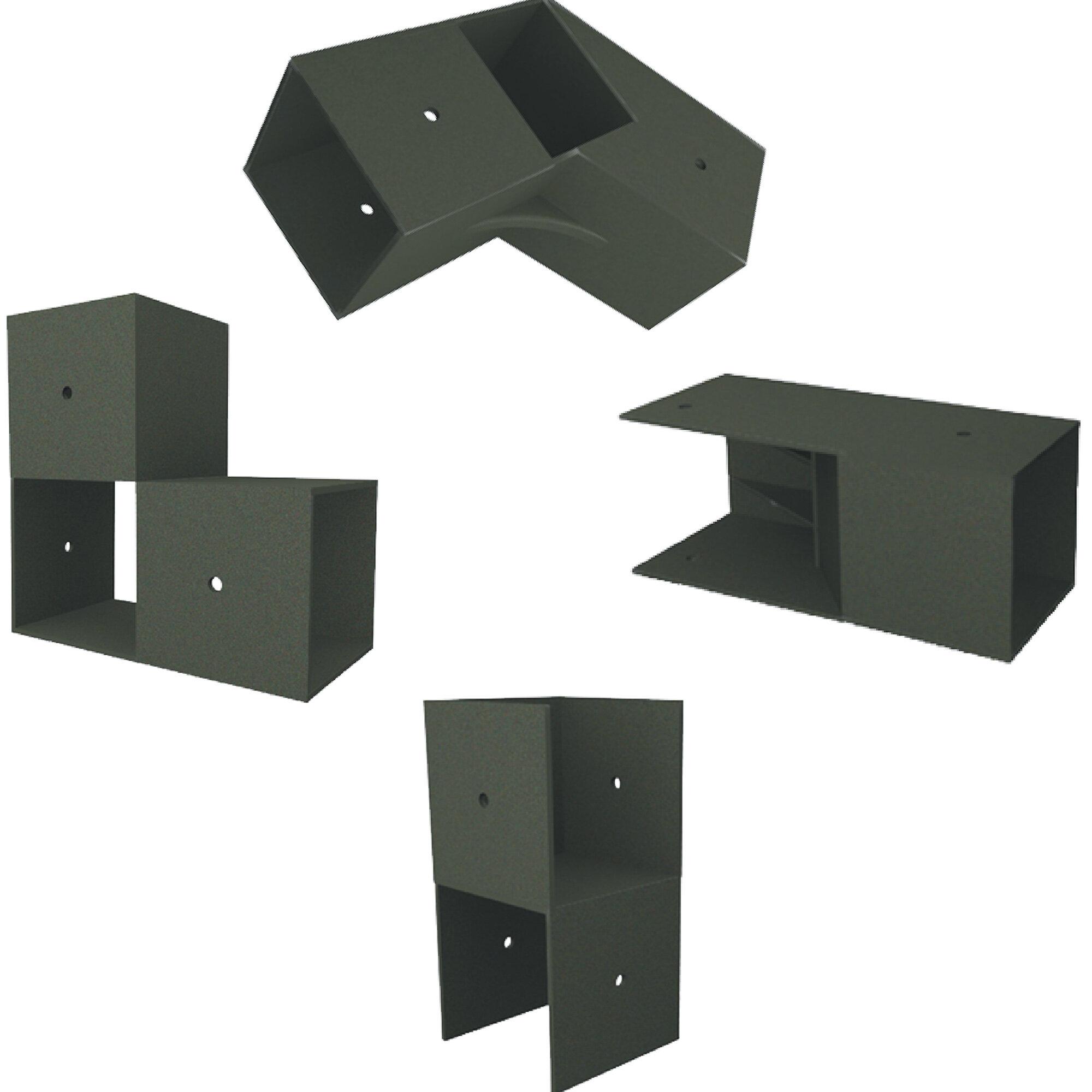 E Z Frames 10 Ft W X 14 Ft D Wood Storage Shed Wayfair
