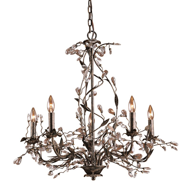 Default nameElk Lighting 5 Light Candle Style Chandelier   Reviews   Wayfair. Elk Lighting Catalog. Home Design Ideas