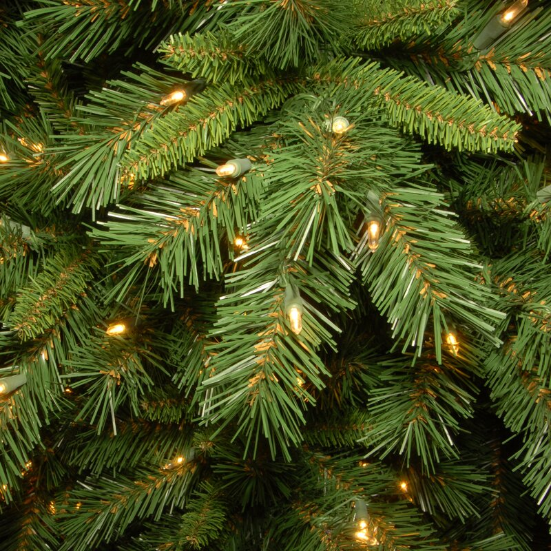 The Holiday Aisle Tiffany Fir 7.5' Green Artificial ...