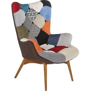 Charming Patchwork Armchair