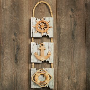 Triple Driftwood Wall Décor