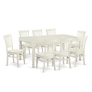 Dover 9 Piece Dining Set by Wooden Imp..