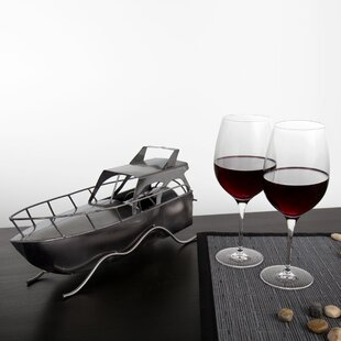Kruger Yacht 1 Bottle Tabletop Wine Rack