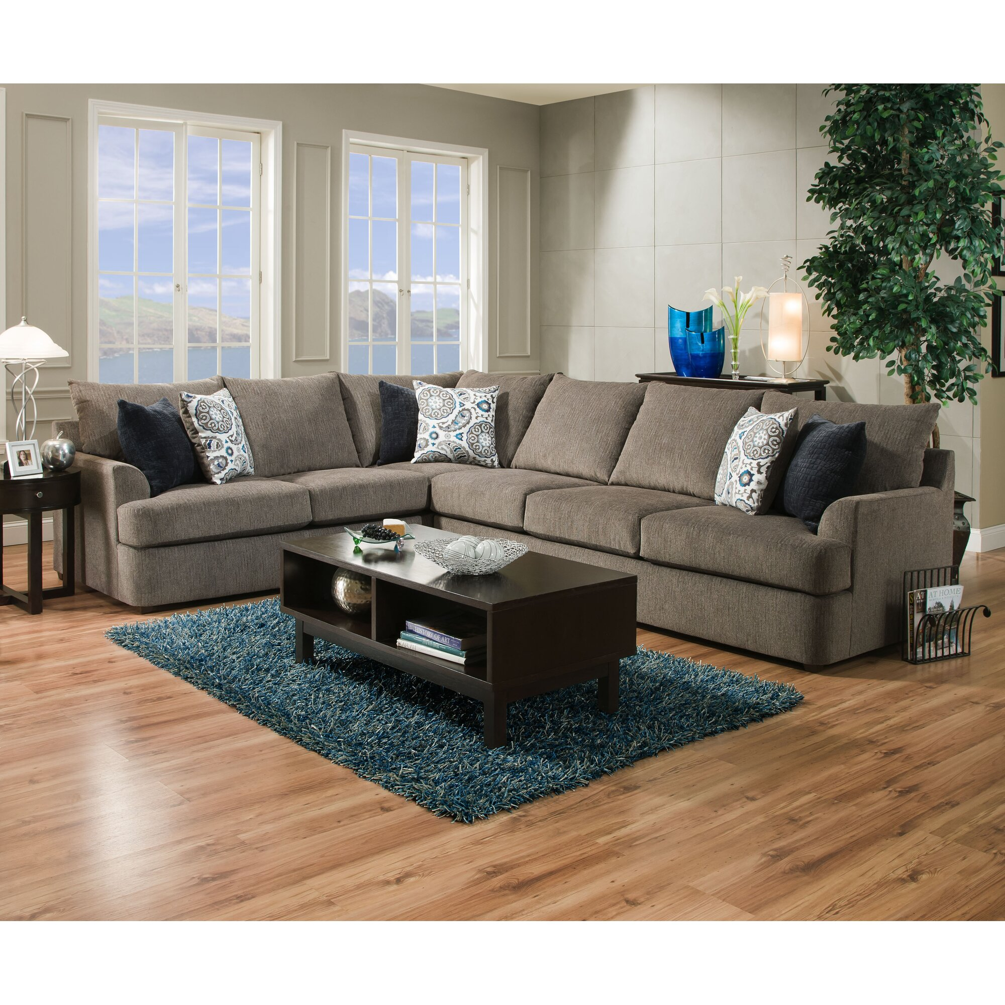 Red Barrel Studio Simmons Sectional & Reviews