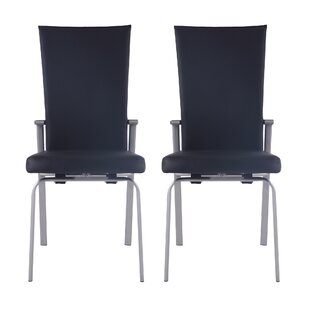 Lyusha Upholstered Dining Chair (Set of 2)