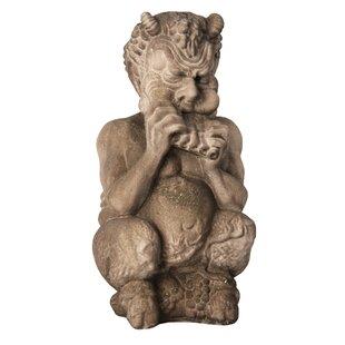 Gargoyles Chubby Greek Pan Statue