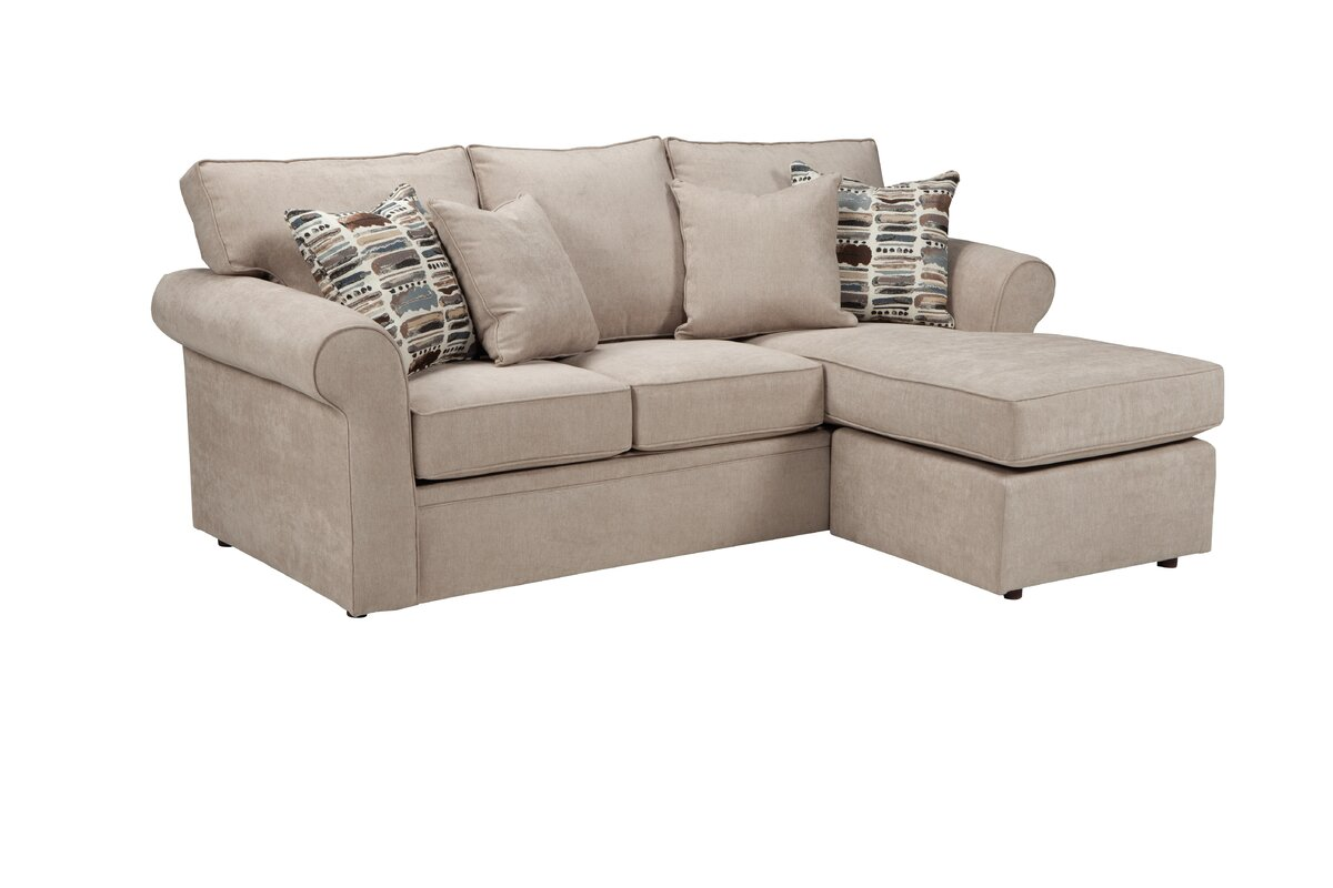 Overnight Sofa Missions Reversible Sectional Reviews Wayfair ~ Reversible Sectional Sofa