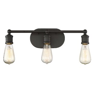 Bathroom vanity lighting agave 3 light vanity light fixture aloadofball Gallery