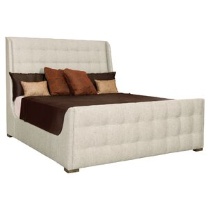 Soho Luxe Upholstered Panel Bed by Bernhardt