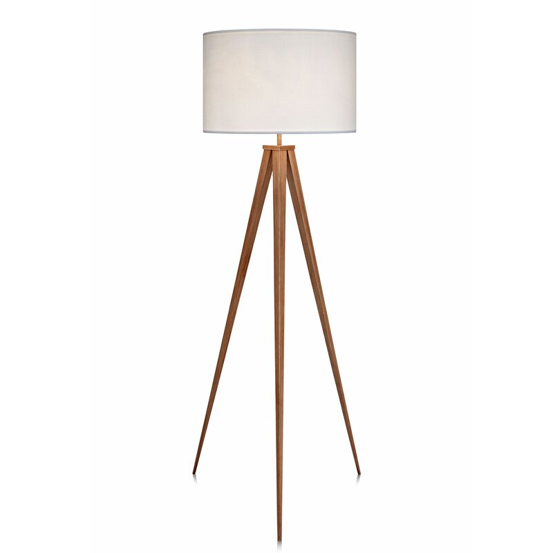 Romanza 6023 tripod floor lamp reviews allmodern romanza 6023 tripod floor lamp aloadofball Images