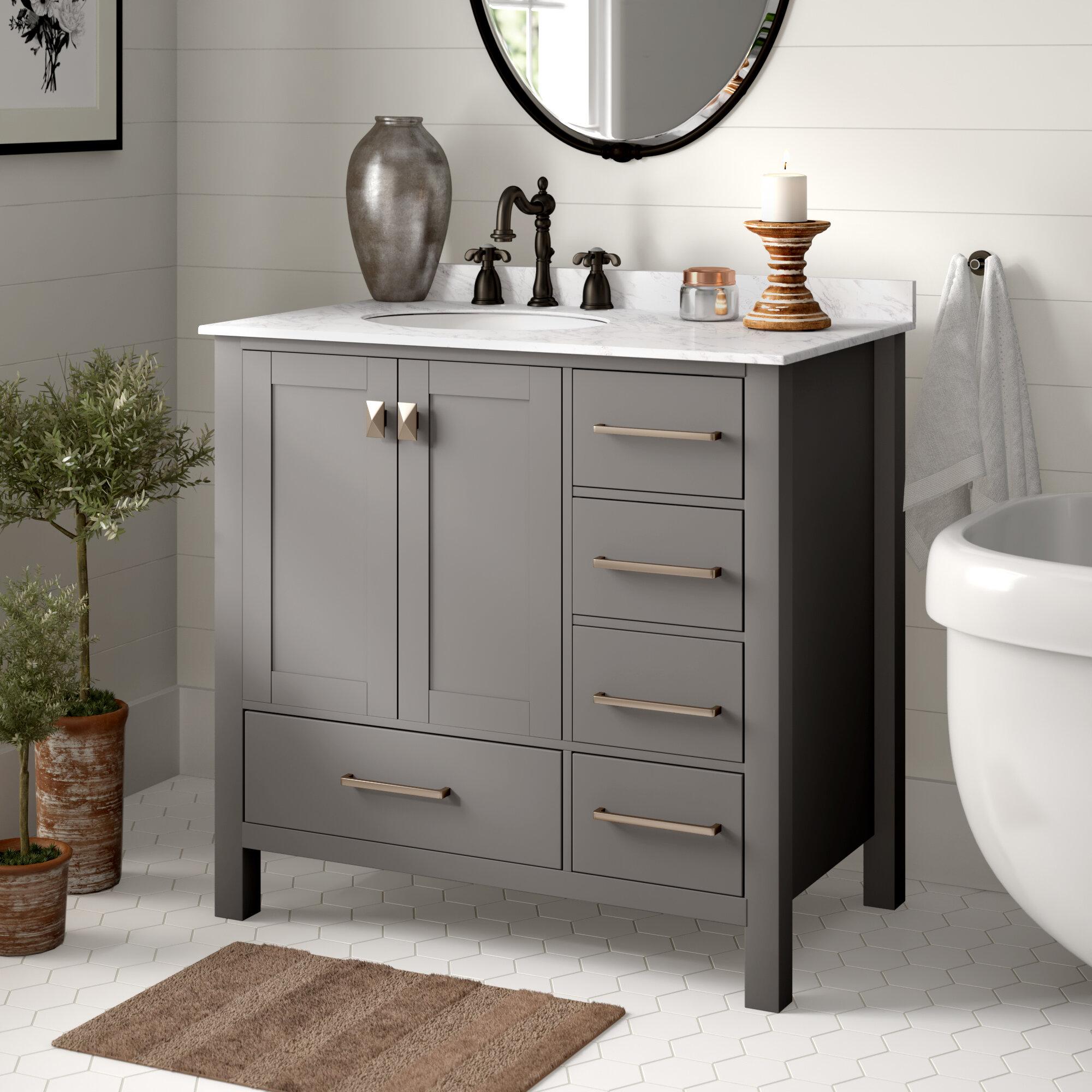 Sensational Newtown 36 Single Bathroom Vanity Set Download Free Architecture Designs Rallybritishbridgeorg