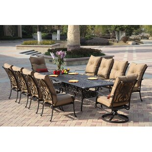 Lanesville 11 Piece Dining Set With Cushions