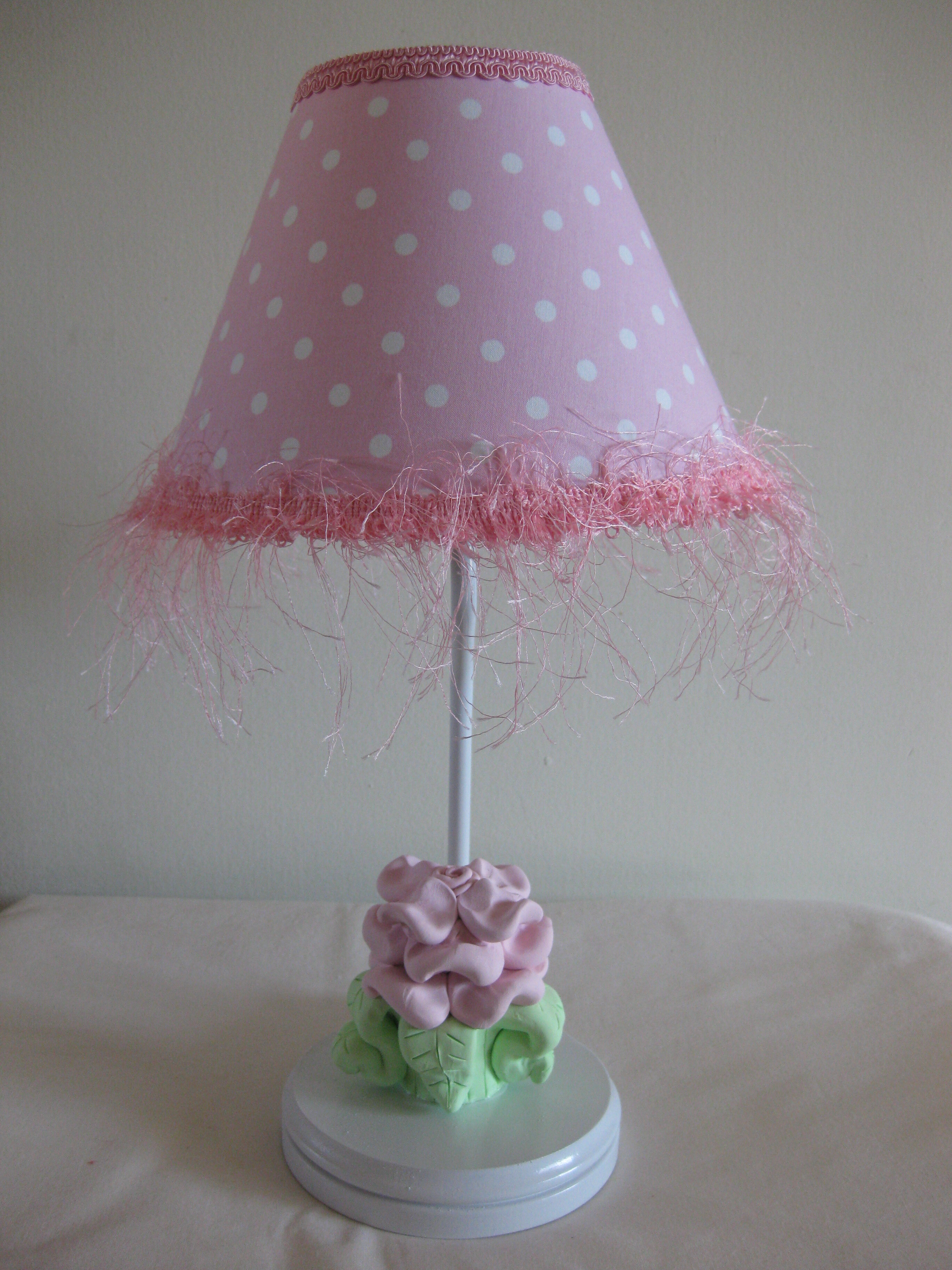 Silly Bear Baby Pink Flower 16 Table Lamp Wayfair
