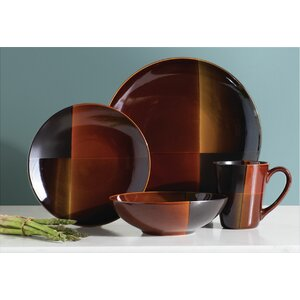 Laurel Valley 16 Piece Dinnerware Set, Service for 4
