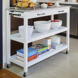 Lombard Kitchen Cart by Alcott Hill