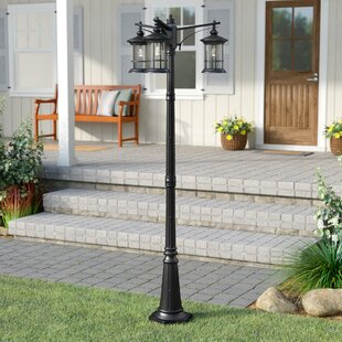 Shaws Outdoor 3 Light 82 Post