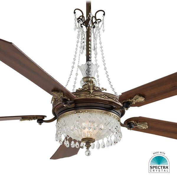 Minka Aire Cristafano Chandelier Ceiling Fan Light Kit & Reviews | Wayfair - Minka Aire Cristafano Chandelier Ceiling Fan Light Kit & Reviews