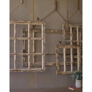 4 Piece Window Frame Wall Décor Set