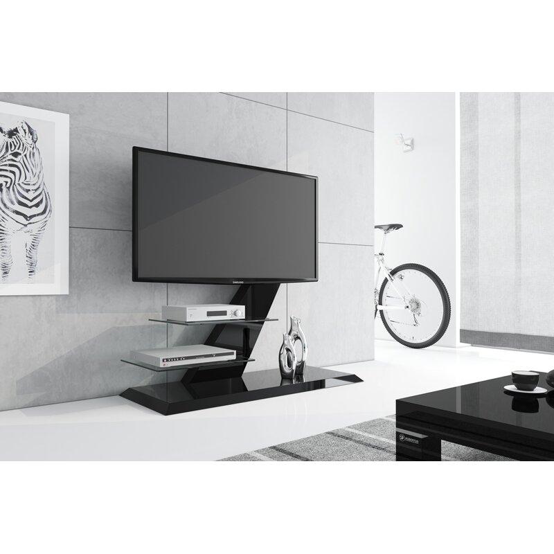 Orren Ellis Malott High Gloss Tv Stand For Tvs Up To 55 Wayfair