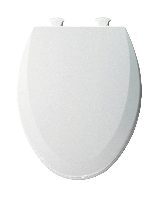 Bemis Molded Wood Elongated Toilet Seat & Reviews | Wayfair