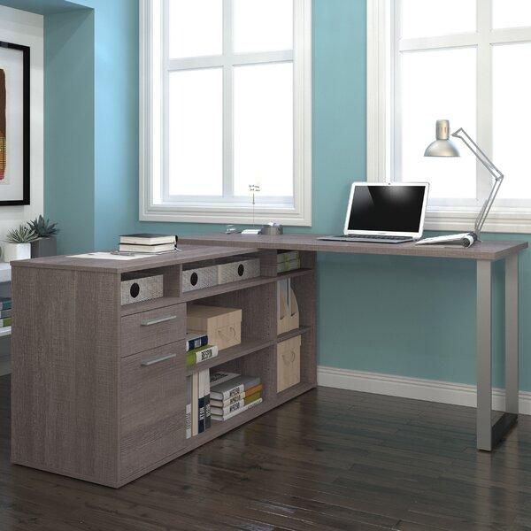 Mercury Row Alves L Shaped Executive Desk Amp Reviews Wayfair