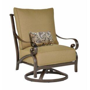 Veracruz High Back Swivel Rocking Chair With Cushion