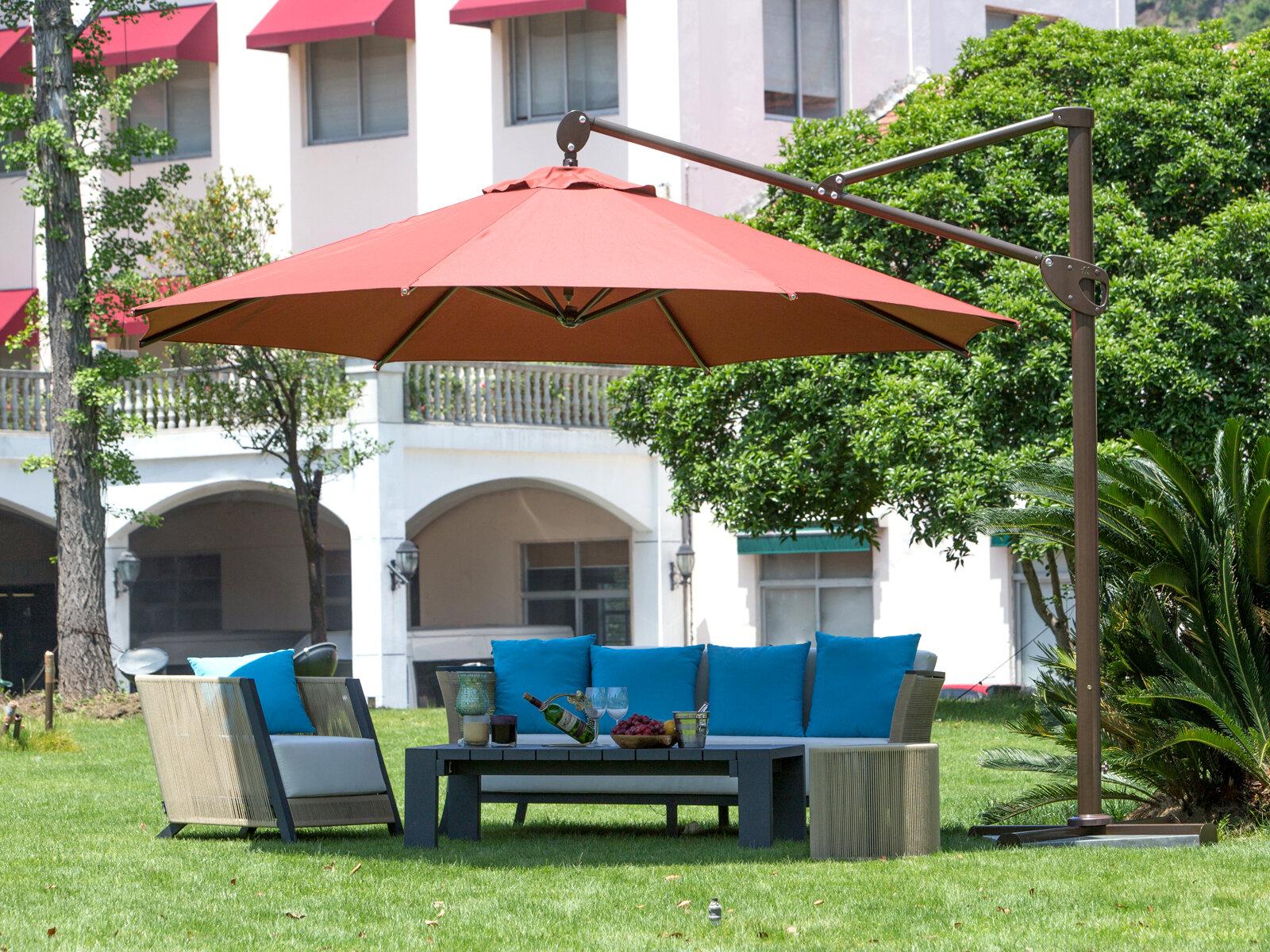 Abba Patio 11 Cantilever Umbrella & Reviews