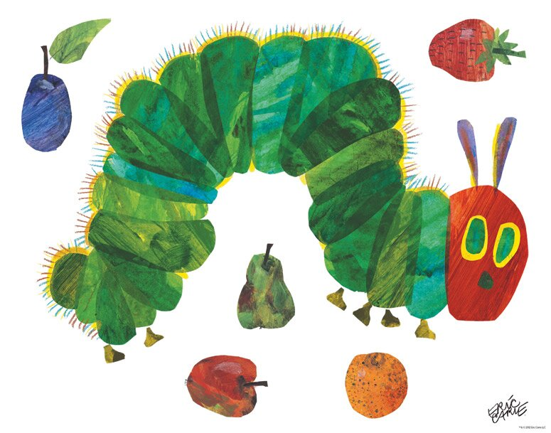 Oopsy Daisy Eric Carle\'s Very Hungry Caterpillar (TM) - Small Peel ...