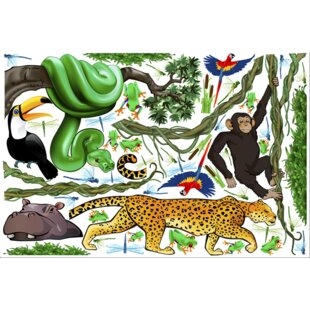 Jungle Exploration Wall Decal