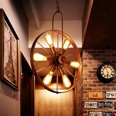 Barn Pulley Pendant Light Wayfair