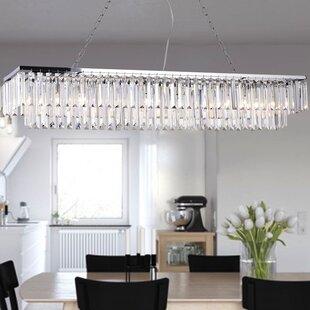 kitchen island light fixtures ideas over allen 8light kitchen island pendant lighting youll love wayfair
