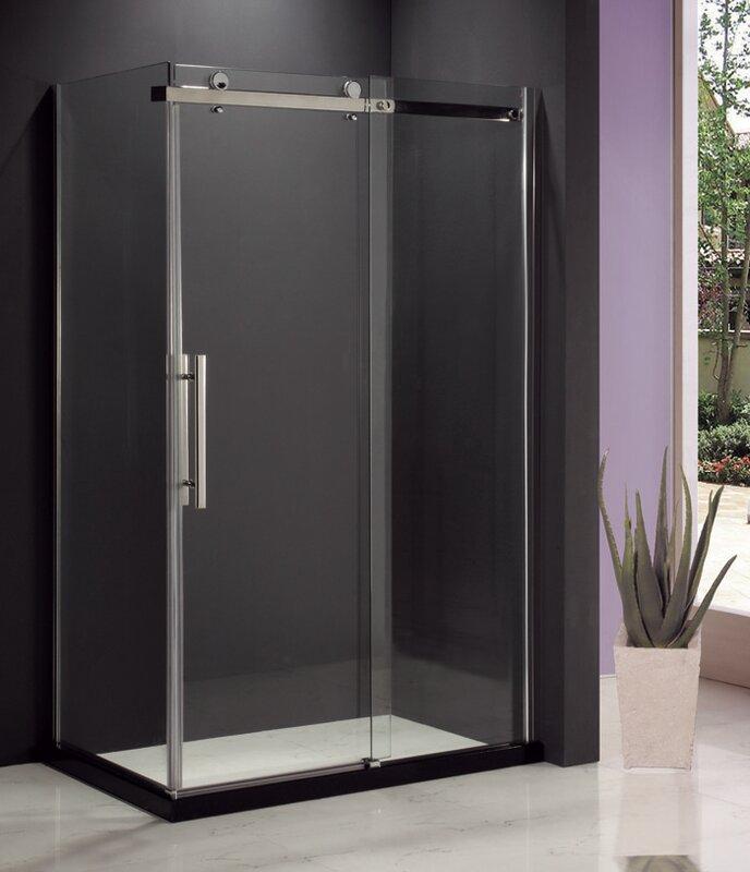 Malta Eva II Sliding Door Shower & Reviews   Wayfair.ca