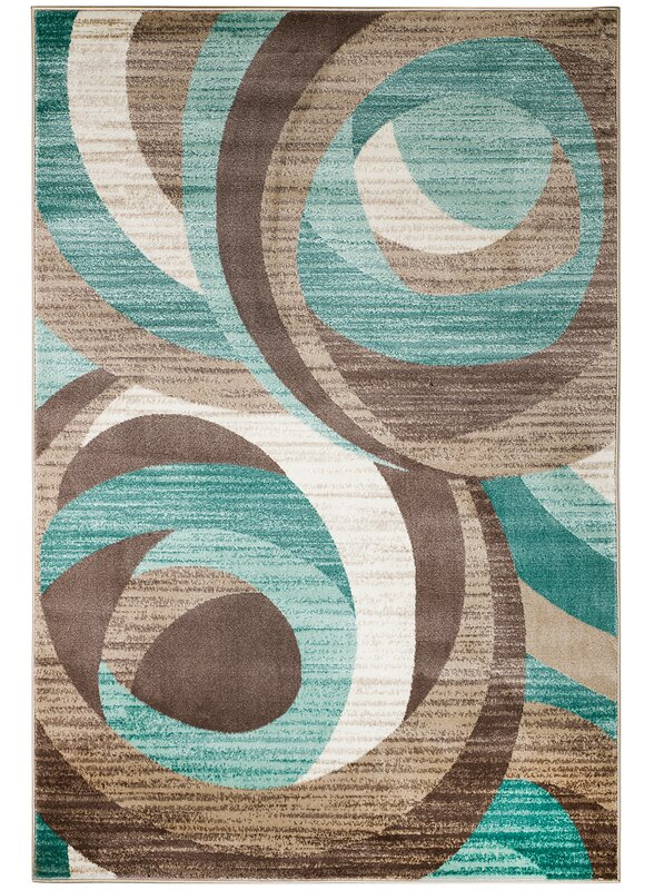 Zipcode Design Rick Teal Area Rug Amp Reviews Wayfair