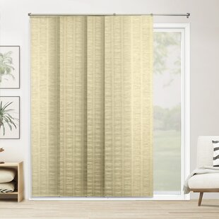 designer vertical blinds contemporary semisheer vertical blind blinds shades youll love wayfair