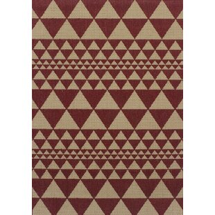 Arthen Prism Red Rug by Norden Home