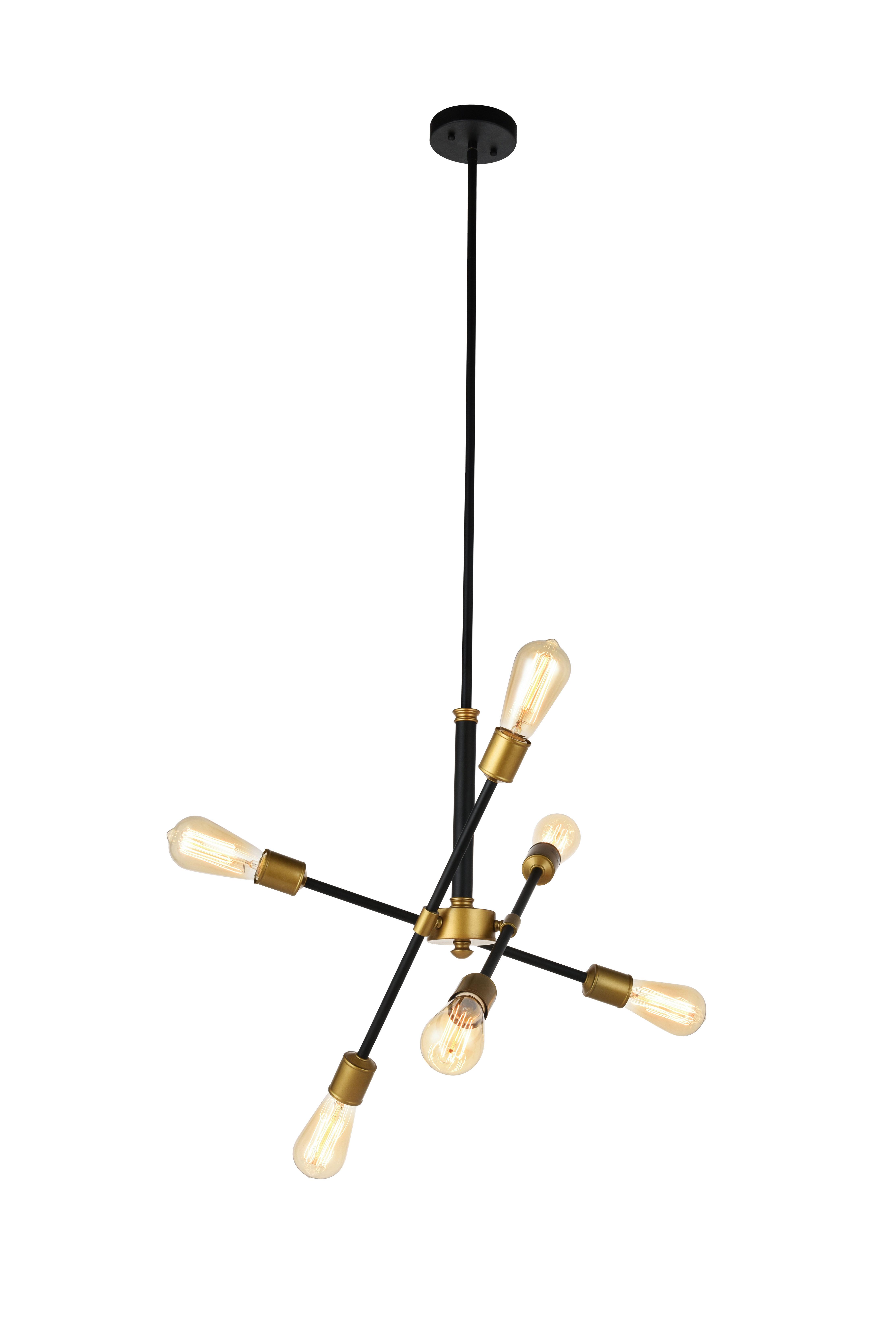 promo code 603e4 e4df7 Mullet 6-Light Sputnik Chandelier