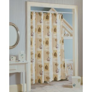Spa Leaf Shower Curtain