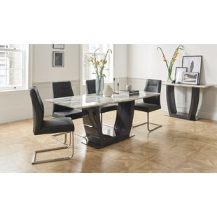 Drennon Dining Set With 4 Chairs