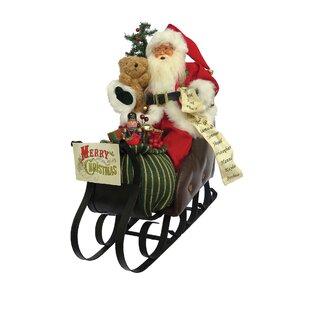 merry christmas sleigh figurine - Christmas Sled